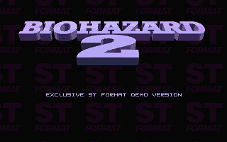 Bio Hazard II - The Xenowars atari screenshot