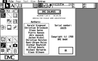Calamus atari screenshot