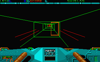 Chase atari screenshot