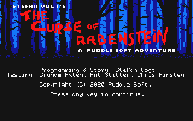 Curse of Rabenstein (The)