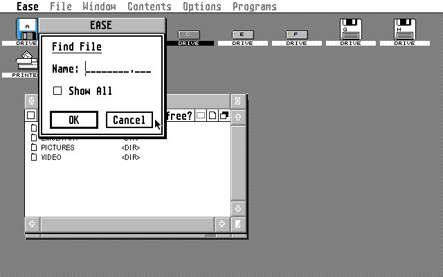 Ease atari screenshot