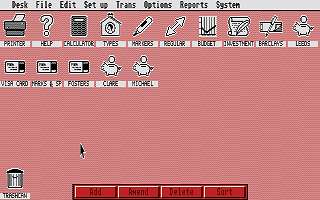 Home Accounts 2 atari screenshot