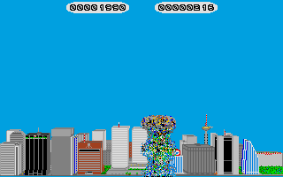 Invasion atari screenshot