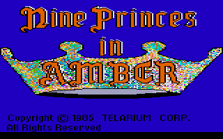 Nine Princes in Amber atari screenshot
