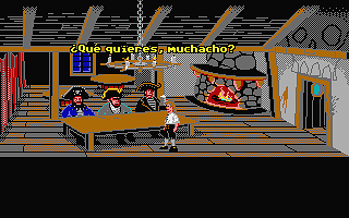 Secret of Monkey Island (The) atari screenshot