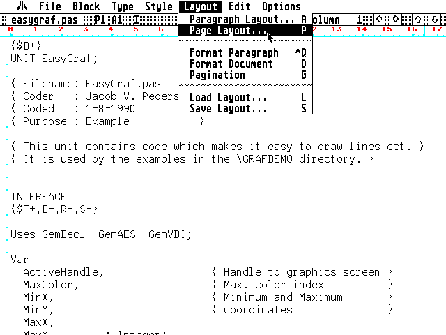 Write On atari screenshot