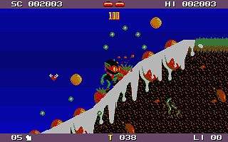 Zool atari screenshot