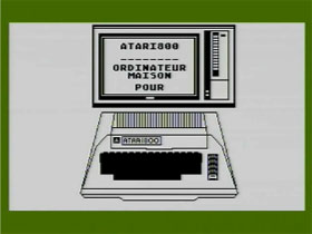 Atari 8bit French In Store Demonstr...